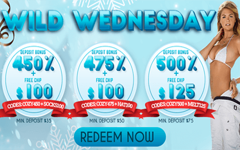 wild wednesday Promotions from Sxvegas